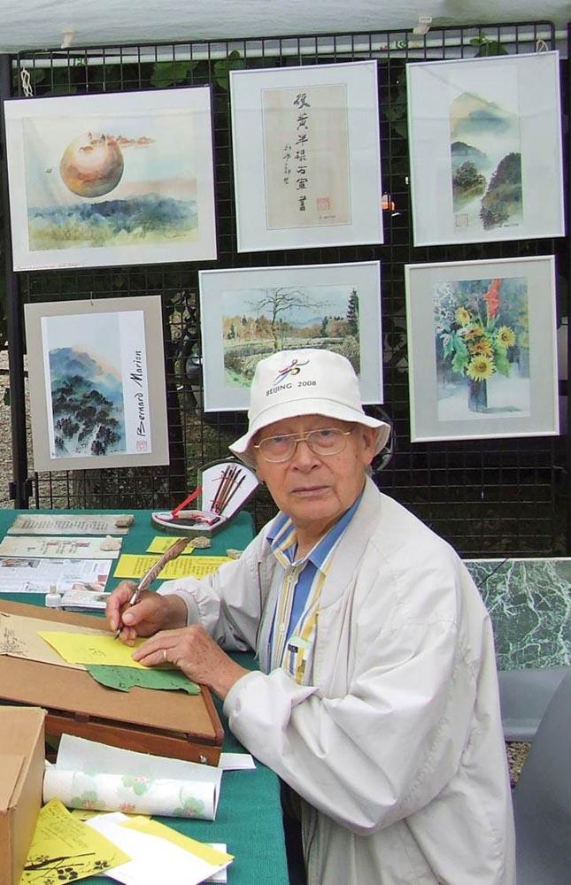 Bernard Marion en Chine