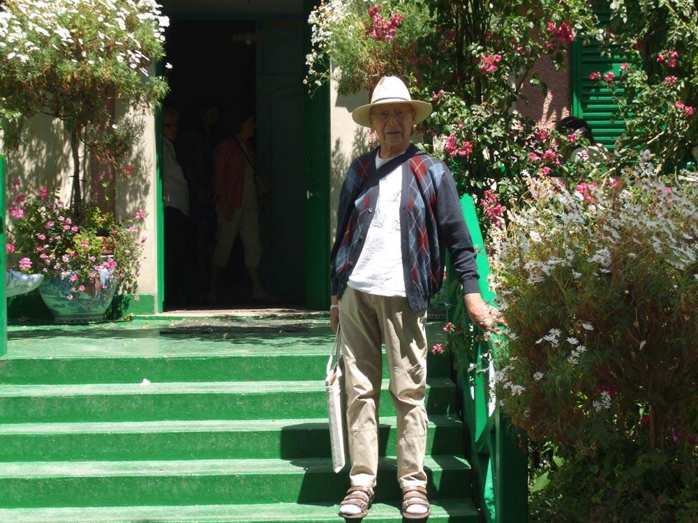 Bernard Marion à Giverny